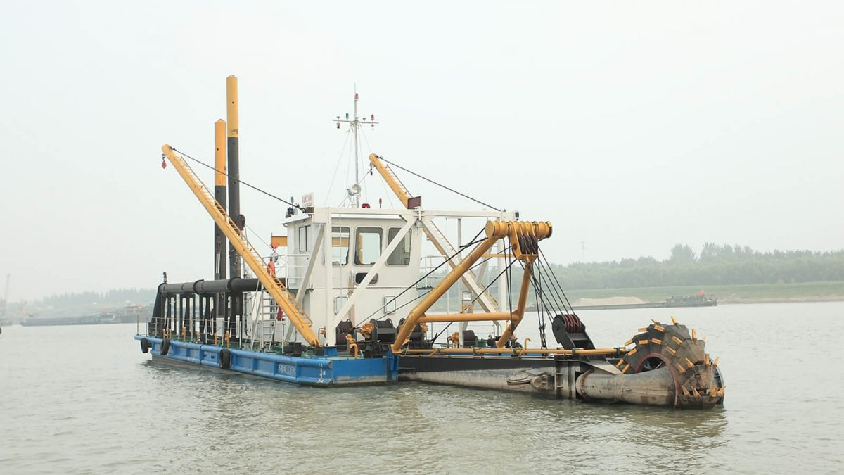 HS-25 Cutter Suction Dredger