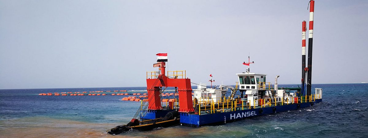 HS-60 Cutter Suction Dredger