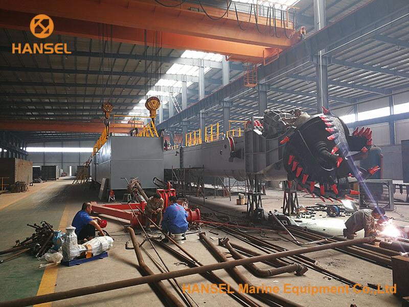 H550 CSD under construction-2