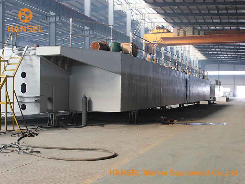 H550 CSD under construction