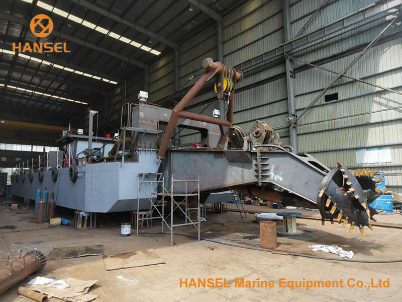 H450 Electrical type CSD under construction 4