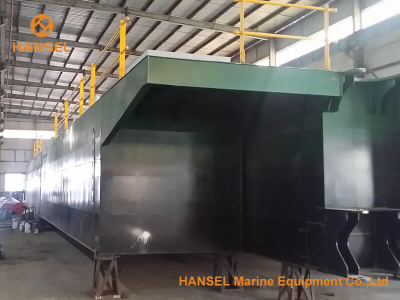 H450 cutter suction dredger under construction 3
