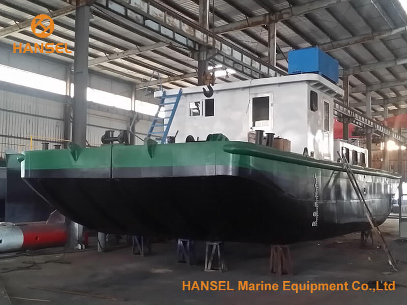 H450 cutter suction dredger under construction 4