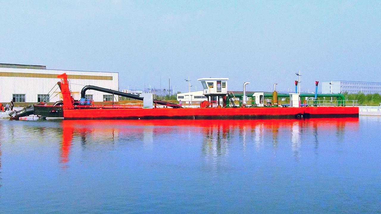 hs-55-cutter-suction-dredger