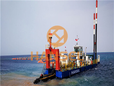 Key Points of Sinking Operation for Pipe of cutter suction dredger