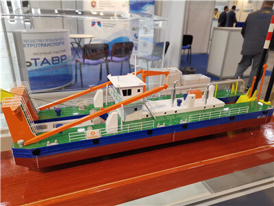 work ship model