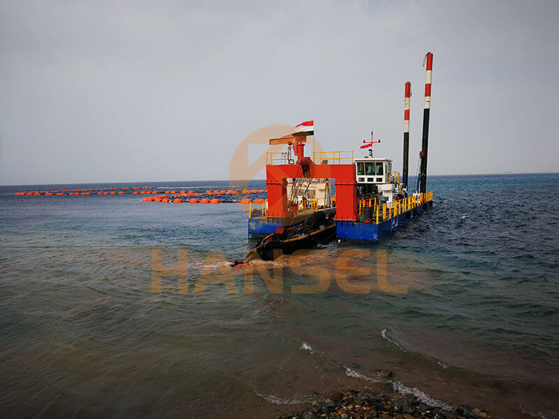 Quality control in dredger construction