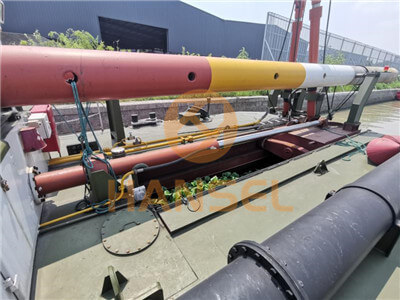 HS-40SB Cutter Suction Dredger csd details