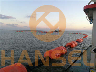 Construction management of long discharge distance pipeline of cutter suction dredger