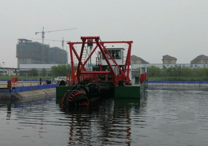 HS-50 cutter suction dredger