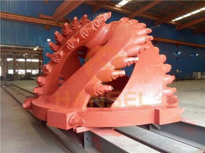 Bucket-wheel cutter-2
