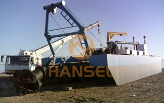 HS-40A-cutter suction dredger