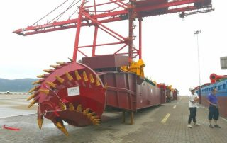 HS-55 cutter suction dredger