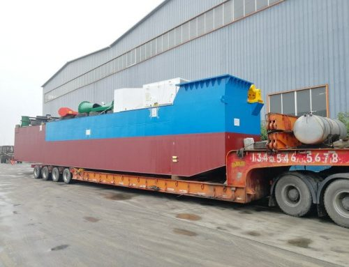 Hansel dispatched the HS-50B CSD to Anhui Province, China