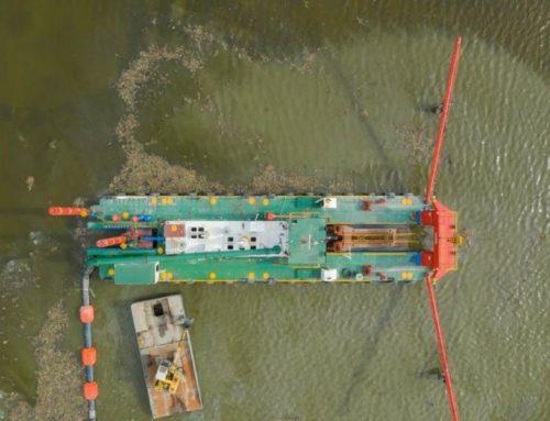 HANSEL 22″ CSD Fleet Start Full Power Production in King Mariout Lake