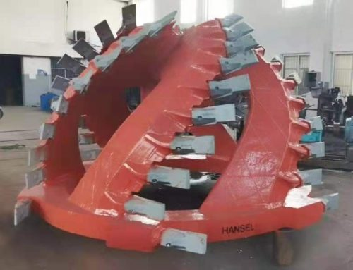 HANSEL delivered 2330 Cutter Head (1800KW) and Teeth for Indian client