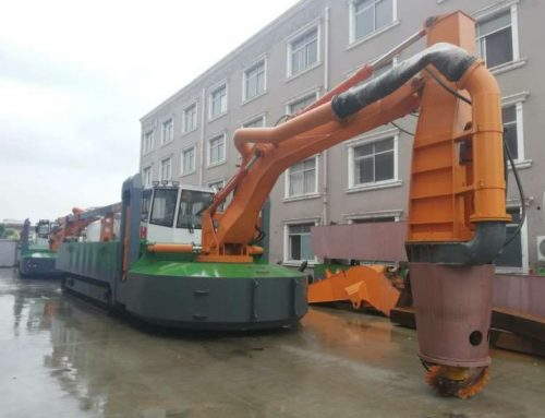 New Generation Amphibious Multi-purpose Dredger HKD-IV Ready For Delivery